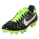 Nike Tiempo Legend IV (Black/Electric Green/White)