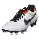 Nike Tiempo Legend IV (White/Total Crimson/Black)