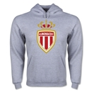 AS Monaco Men's Soccer Hoody (Ash)