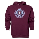 Aston Villa Distressed Hoody (Maroon)