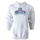 Chelsea FC Distressed Hoody (White)