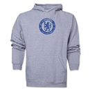 Chelsea Distressed Emblem Hoody (Ash Gray)