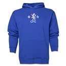 Chelsea Distressed Logo Hoody (Royal)