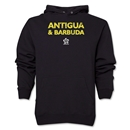 Antigua & Barbuda CONCACAF Distressed Hoody (Black)