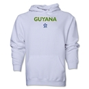 Guyana CONCACAF Distressed Hoody (White)