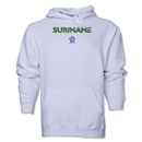 Suriname CONCACAF Distressed Hoody (White)