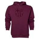 Barcelona Distressed Hoody (Maroon)
