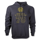 Manchester United Eighteen 78 Hoody (Black)