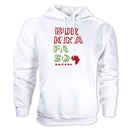 Burkina Faso Country Hoody (White)