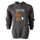 Cote d'Ivoire Country Hoody (Dark Gray)