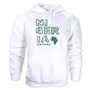 Nigeria Country Hoody (White)