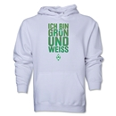 Werder Bremen I Am Green and White Hoody (White)