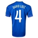 Brazil 2013 DAVID LUIZ Away Soccer Jersey