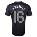 Portugal 2013 R. MEIRELES Away Soccer Jersey