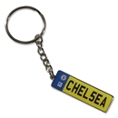 Chelsea License Plate Key Ring