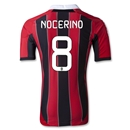 AC Milan 12/13 NOCERINO Authentic Home Soccer Jersey