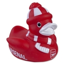 Arsenal Vinyl Duck with Scarf