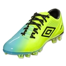Umbro GT2 Pro FG (Neon Yellow/Black/Cyan Blue)
