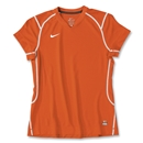 Nike Women's Brasilia II Soccer Jersey (Orange)