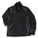 Nike Women's 1/4 Zip Performance Thermal Top (Black)