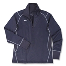 Nike Women's 1/4 Zip Performance Thermal Top (Navy)