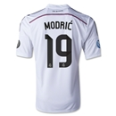 Real Madrid 14/15 MODRIC UCL Home Soccer Jersey