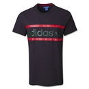 adidas Originals Heritage Logo T-Shirt (Blk/Green)