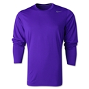 Nike Legend Long Sleeve Poly Top (Purple)