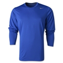 Nike Legend Long Sleeve Poly Top (Royal)