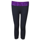 Under Armour Women's Sonic Capri (Blk/Pur)