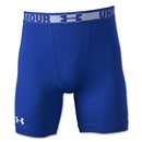 Under Armour HeatGear Sonic Compression Short (Roy/Wht)