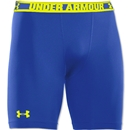 Under Armour HeatGear Sonic Compression Short (Roy/Yel)