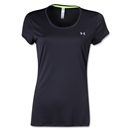 Under Armour Women's HeatGear Flyweight T-Shirt (Black)