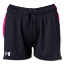 Under Armour Girls Intensity 3 Short (Black/Pink)