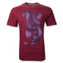 Barcelona 2011 Authentic Graphic T-Shirt (Red)