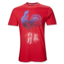 France 11/12 Graphic T-Shirt (Red)