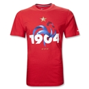 France 1904 Core Soccer T-Shirt (Red)