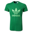 adidas Originals adi Trefoil T-Shirt (Green)