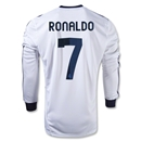 Real Madrid 12/13 RONALDO LS Home Soccer Jersey