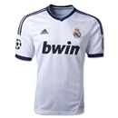 Real Madrid 12/13 UCL Home Soccer Jersey