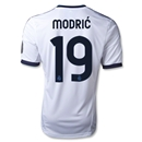 Real Madrid 12/13 MODRIC UCL Home Soccer Jersey