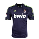 Real Madrid 12/13 Youth Away Soccer Jersey
