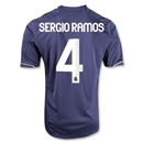Real Madrid 12/13 SERGIO RAMOS Youth Away Soccer Jersey