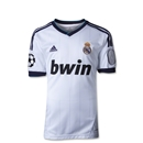 Real Madrid 12/13 Youth UCL Home Soccer Jersey