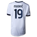 Real Madrid 12/13 MODRIC Youth UCL Home Soccer Jersey