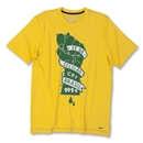Brazil 11/12 Core T-Shirt (Yellow)