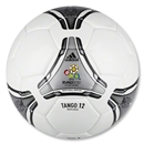 UEFA Euro 2012 Tango 12 Finals Replique (White/Black/Metallic Silver/Neo Iron Metallic)