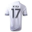 France 12/13 M'VILA Away Soccer Jersey