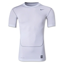 Nike Core Compression SS Top 2.0 (White/Gray)