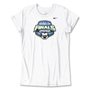 US Club Soccer Final Women's Poly Top (White)